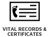 Vital Records & Certificates